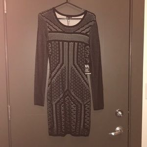 New with tags- Express sweater bodycon dress